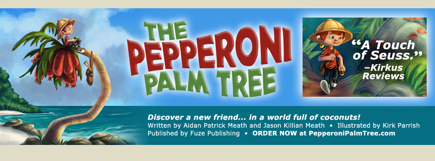 The Pepperoni Palm Tree